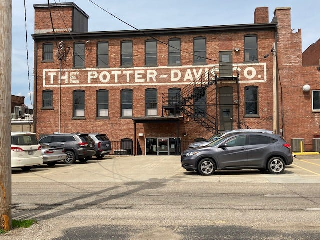 The final payment of $718,489 for a $1.2 million loan by Wesbanco to complete renovations at the Potter-Davis Building in downtown Cambridge was received by the Guernsey County Port Authority on Monday. The entire renovation cost was nearly $5 million.