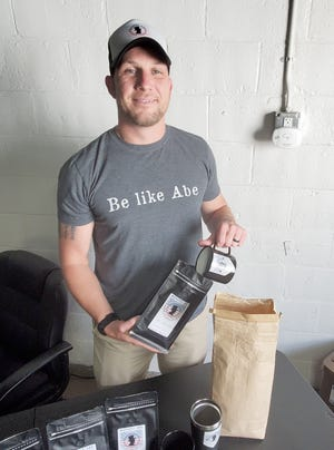 """Abe McMillion began Honest Abe Coffee company in March in Lexington. The company's name is a nod to his own name, and home state of Illinois, where """"Honest"""" Abraham Lincoln, the 16th president, was born."""