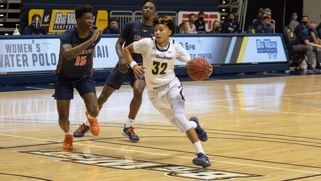 Mikey Howell was 12th in the nation in assists last season for UC San Diego, and will join Bradley University.
