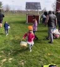 Case-Barlow Farm held its third annual Easter Egg Hunt on Saturday, April 3, with over 200 children armed with Easter baskets in attendance.