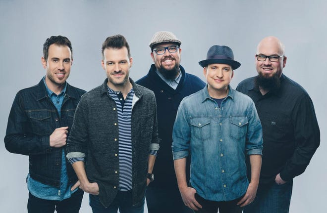 Contemporary Christian group Big Daddy Weave, along with Steven Curtis Chapman, will be live in concert on Sunday at the Stars and Stripes Drive-in.