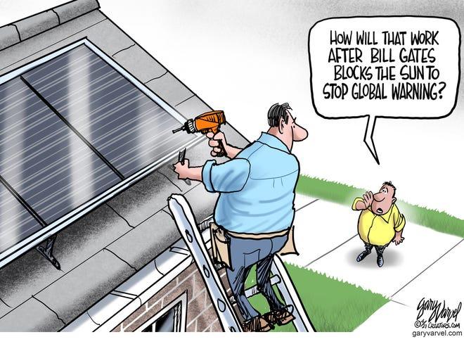 Today's editorial cartoon (April 15, 2021)
