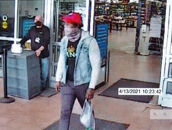 The Mineral County Sheriff's Office is seeking the identity of this man believed to have been involved in a grand larceny at Keyser Walmart.