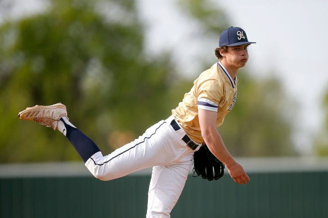 Heritage Hall's Jackson Jobe has thrown two no-hitters and struck out 82 batters in 34 innings pitched this season while giving up just 11 hits and one earned run to tally a 0.202 ERA.