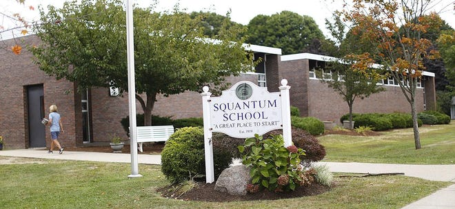 The Squantum School in Quincy pictured in 2019.