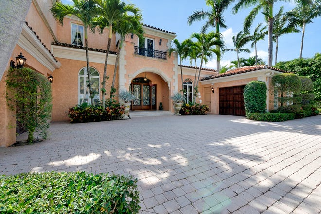 Richard and Debra White Dove Graciano last year sold this Palm Beach house at 240 Via Las Brisas for a recorded $8.95 million.