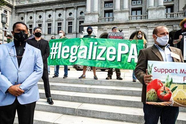 A rally for the legalization of marijuana in Pennsylvania is set to take place on 4/20 in Harrisburg.