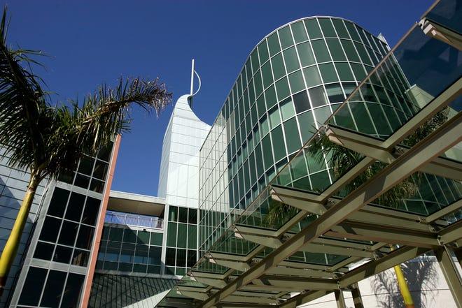 Building B at the Scripps Florida Research Institute in Jupiter.