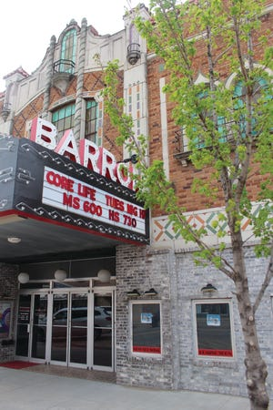 The Barron Theater at 313 S. Mainin Pratt brings a combination of old charm and new life to the downtown area. Fundraising efforts now underway are focused on flooring and bathroom improvements.