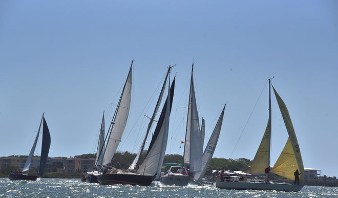 St. Augustine Race Week includes competitions among sailboats of different styles, sizes and capabilites race inshore and offshore.