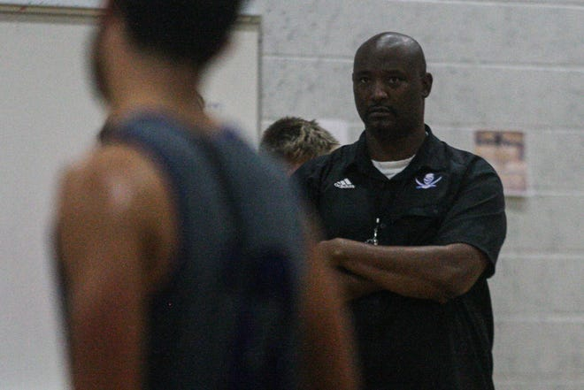 Donald Lockhart plans to play up-tempo basketball as the new boys' coach at Menendez High.