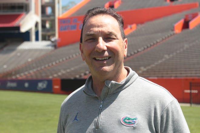 Florida Director of Player Personnel Charlie Skalaski
