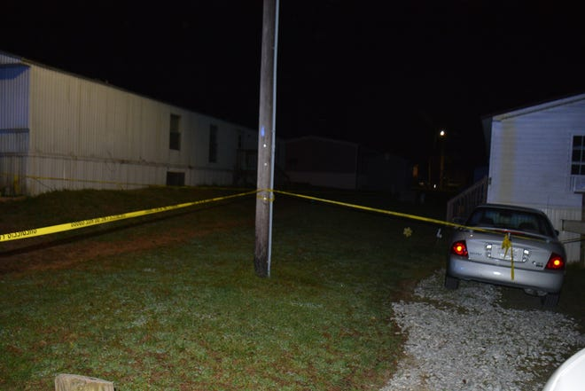 Two people were killed during a shooting at a Green Level mobile home park on Thursday, April 8.