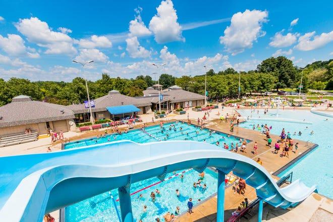 Jack Florance Pool swimming pool at Mingo Park, 500 E. Lincoln Ave. in Delaware