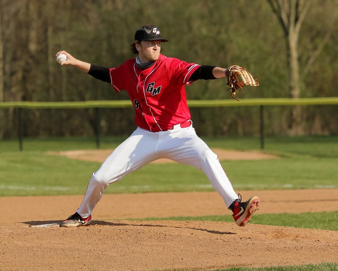 Tyler McKee pitched a complete game and doubled in the go-ahead run in the sixth inning in Groveport's 2-1 victory over Reynoldsburg on April 12 for the Cruisers' first victory.