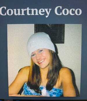 The body of Courtney Coco, 19, was found in an abandoned building in Winnie, Texas, in October 2004. The Alexandria Police Department arrested a Boyce man, 45-year-old David Anthony Burns, after he was indicted on a second-degree murder charge in her death.