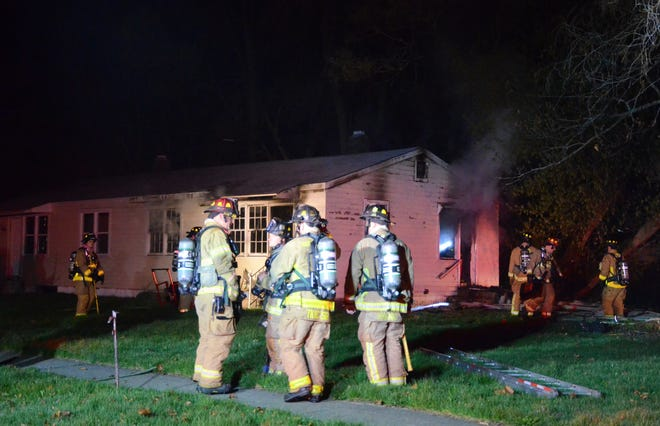 a duplex on South 22nd Street was damaged by fire Wednesday morning.