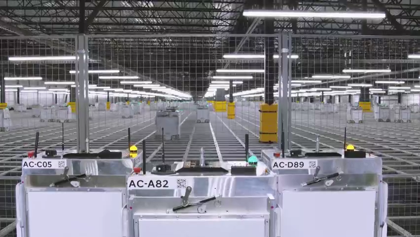 Watch how it works: Kroger's new home delivery warehouse