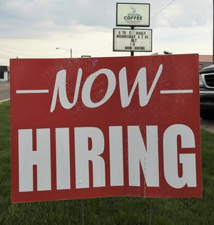 Some local businesses find it hard to find people who want to work.