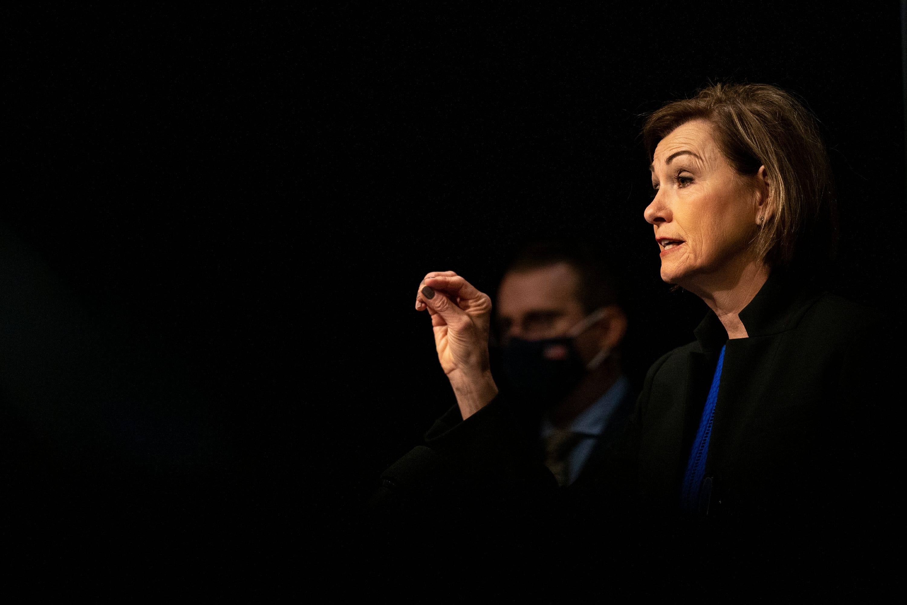 Gov. Reynolds, again, asks Iowans to get vaccinated for COVID-19