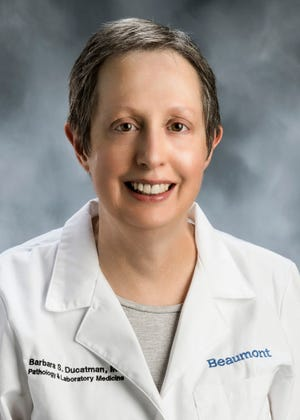 Dr. Barbara Ducatman is chief medical officer at Beaumont Hospital, Royal Oak.