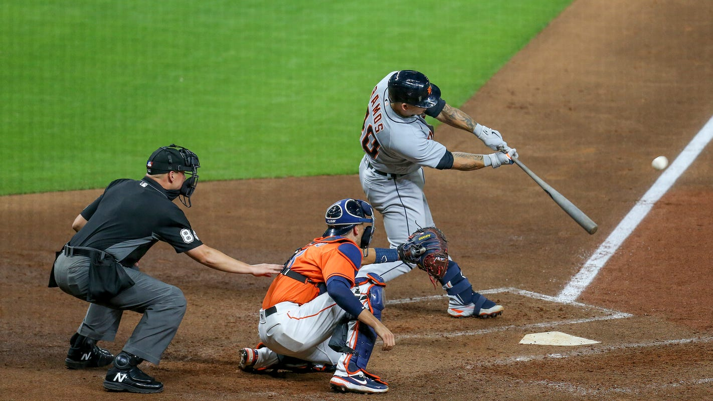 Detroit Tigers catcher Wilson Ramos leads MLB in home runs: 'Dream come true'
