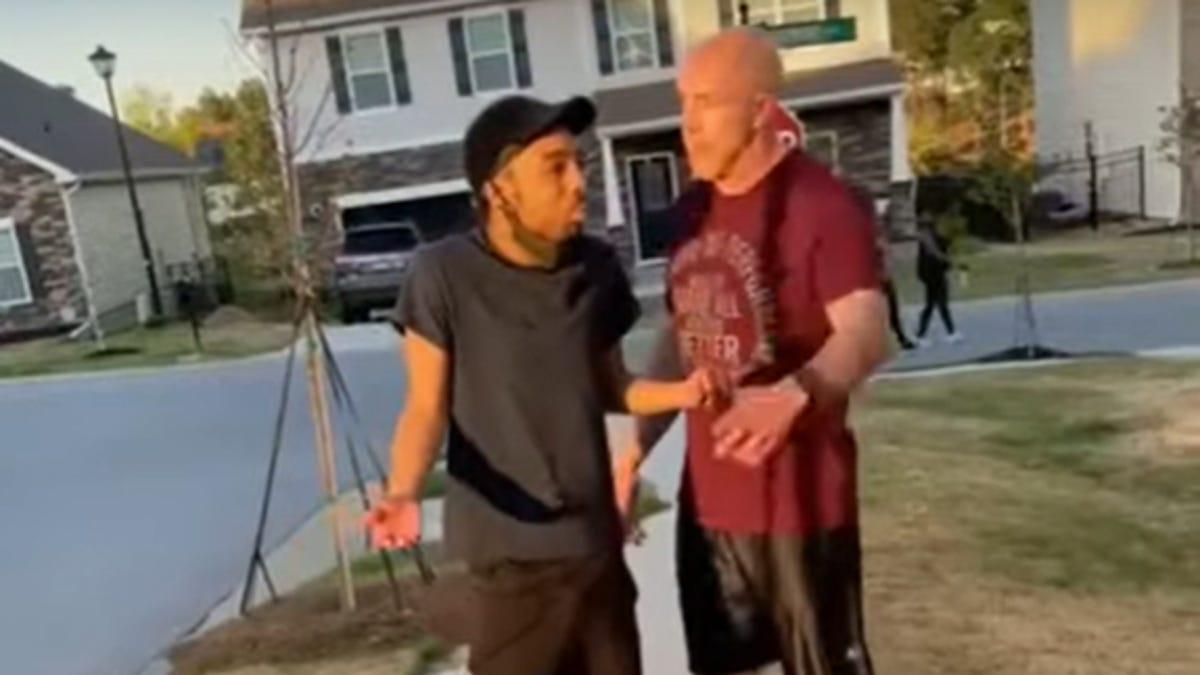 Soldier charged after video of confrontation with Black man 2