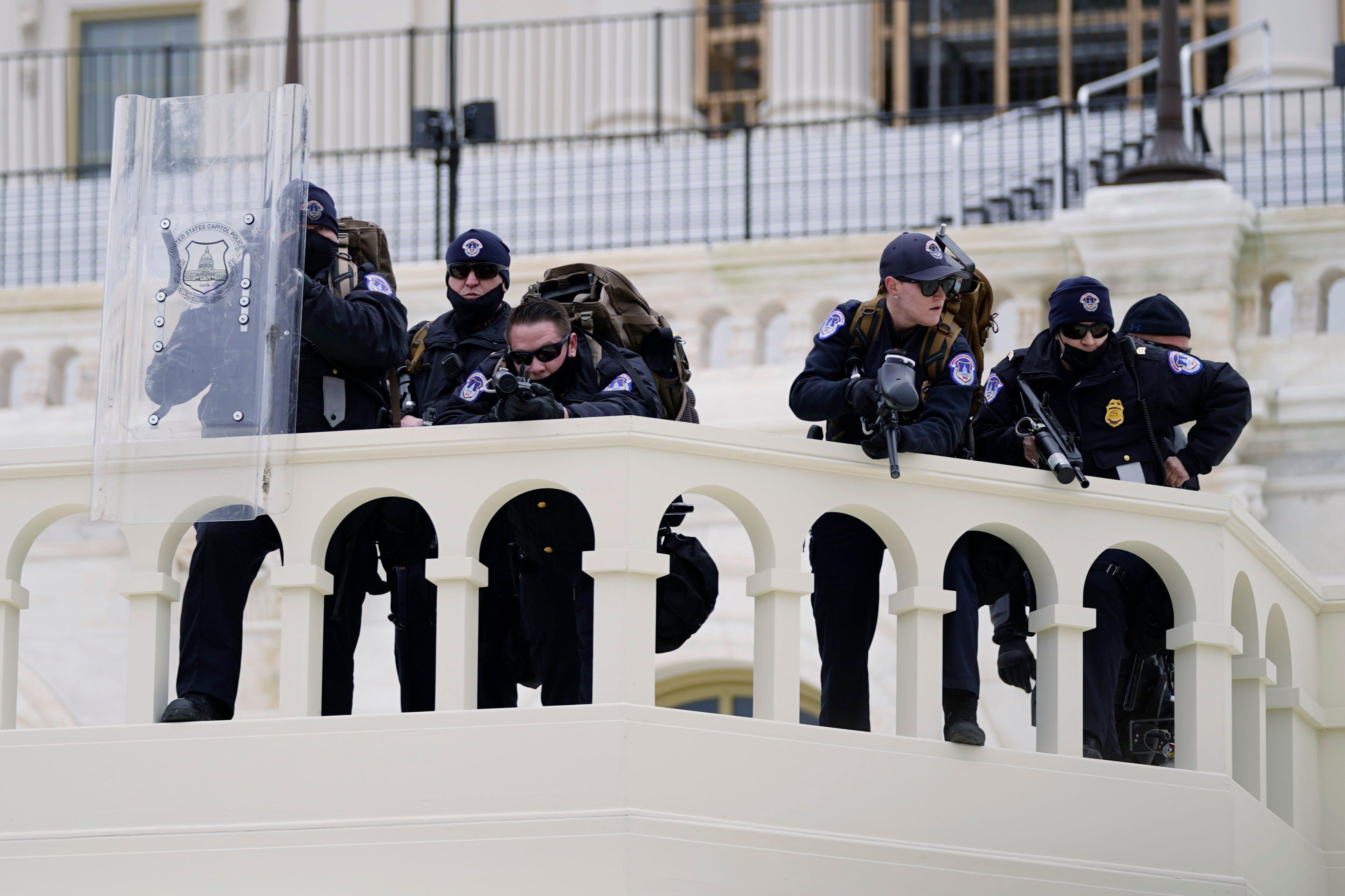 Report: Broad missteps left Capitol Police unprepared Jan. 6 2