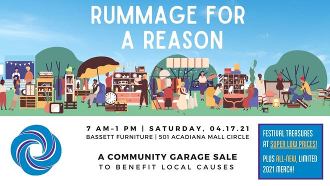 Rummage for a Reason, garage sale run by 16 local nonprofits, will offer vintage goodies, free COVID-19 vaccines and other items to benefit the organizations.
