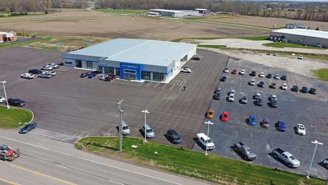 Employees of Rocket Chevrolet in Shelby will celebrate with a ribbon cutting on April 19th after two years of hard work rebuilding after a tornado hit on April 14, 2019.
