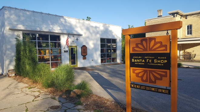 The Santa Fe Shop, W63 N680 Washington Ave., is closing its doors when owners Gary and Judy Lukitsch retire in May.