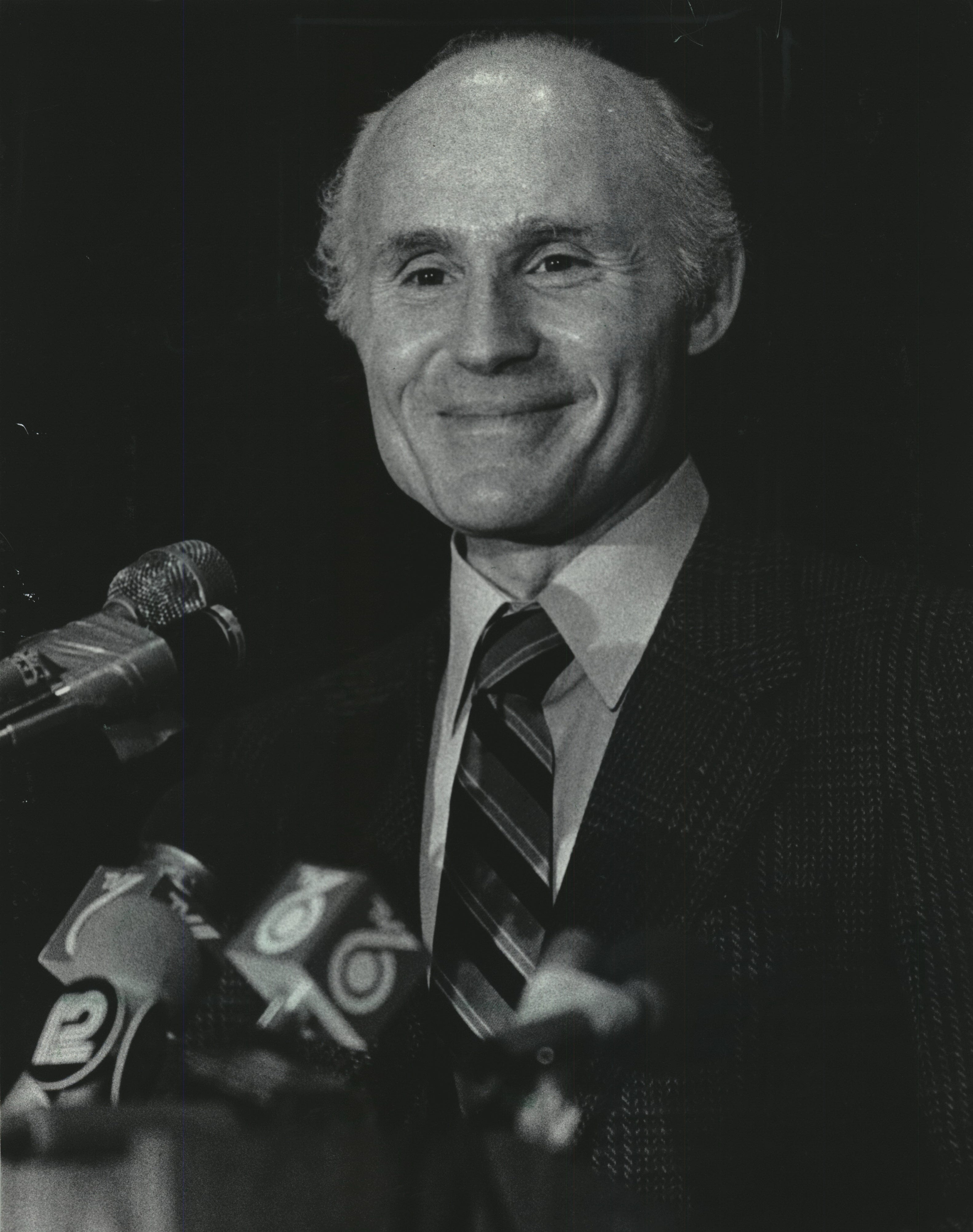 Herb Kohl bought the Bucks in 1985 but had an early interest in bringing an expansion team to Milwaukee in 1968.