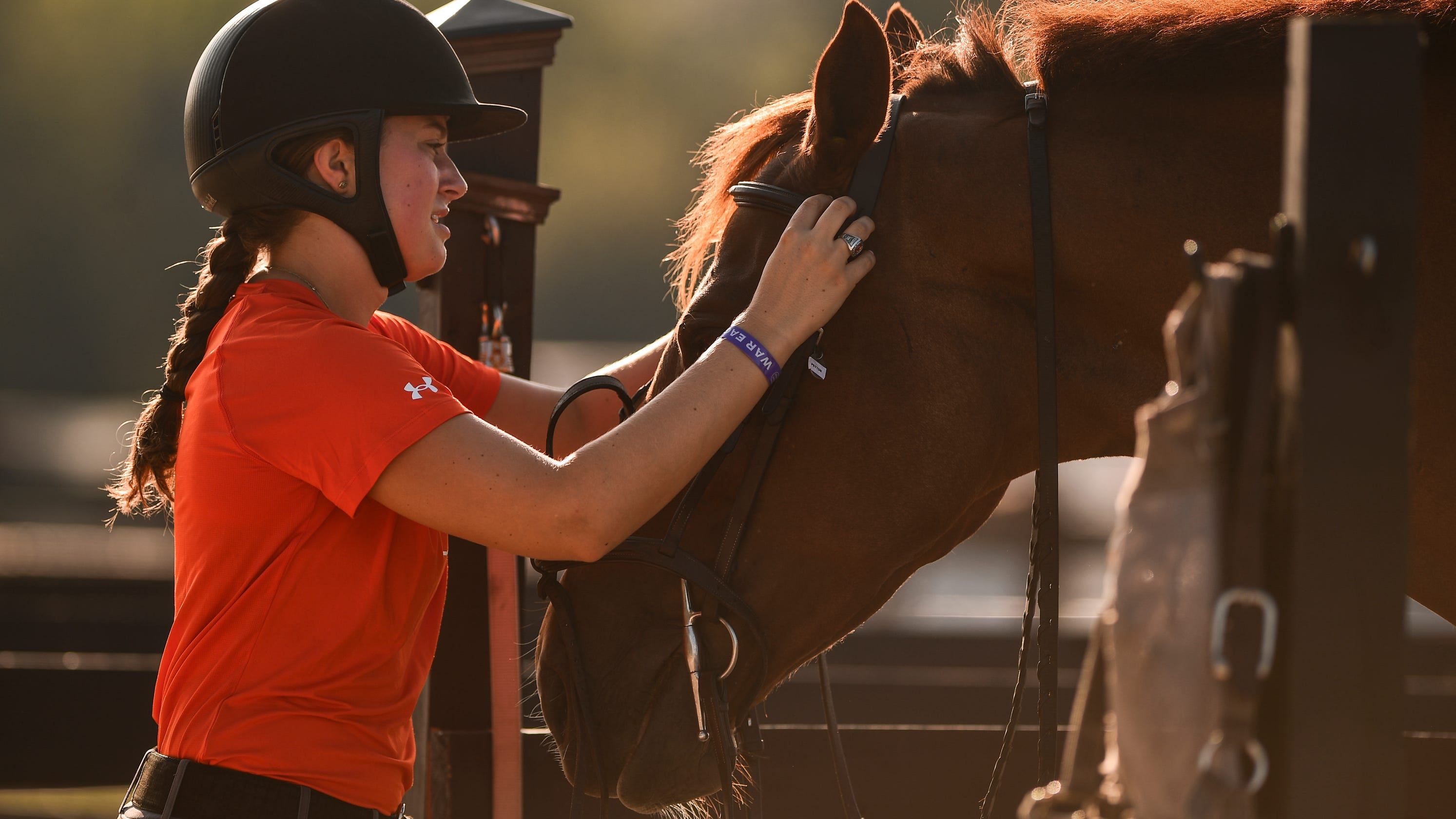 A horse is a horse of course, but to Auburn's equestrian team, they are the unsung heroes