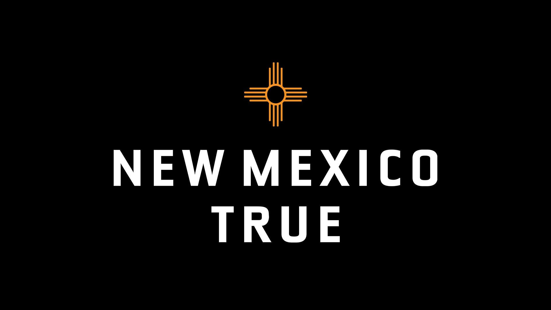 """State officials unveiled the new """"New Mexico True"""" logo on Tuesday, April 13, 2021."""