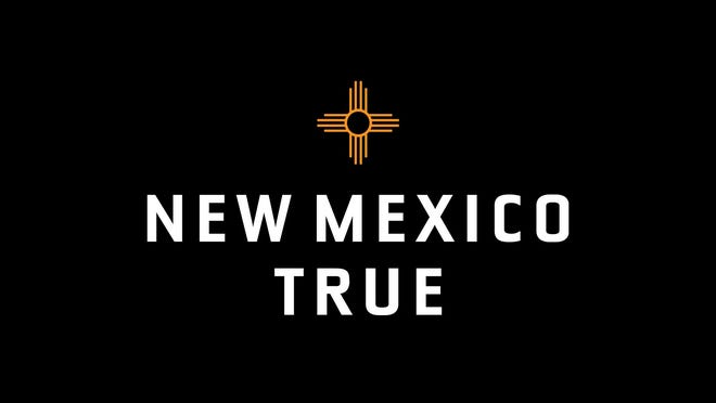 "State officials unveiled the new ""New Mexico True"" logo on Tuesday, April 13, 2021."