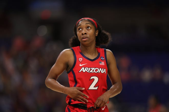 Guard Aari McDonald is positioned to become the first WNBA first-round draft pick from Arizona on Thursday.