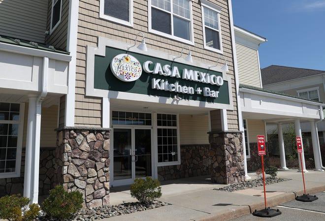 El exterior del Restaurante Casa México en la Ruta 52 en Hopewell Junction 14 de abril de 2021.