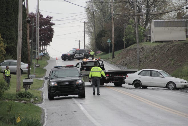 A York City man died after a crash on Wednesday inSpringettsbury Township, police said. April 14, 2021.