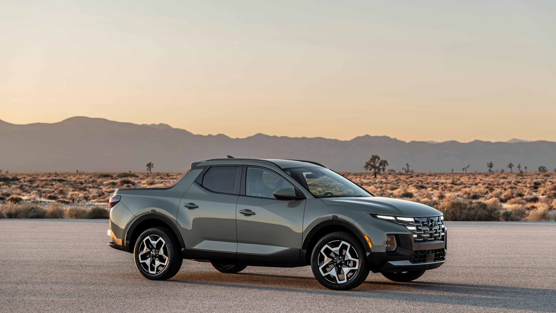 Hyundai reveals its first pickup-SUV combination, the 2022 Santa Cruz