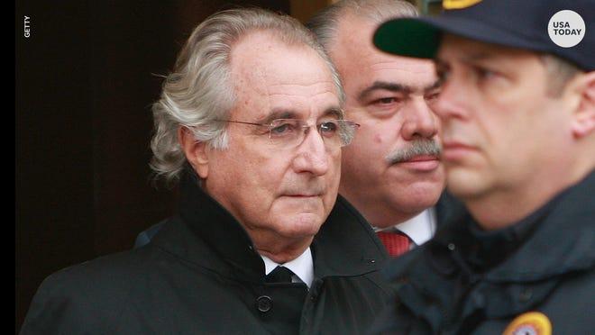 Bernie Madoff, Ponzi scheme leader, was sentenced to 150 years in jail.
