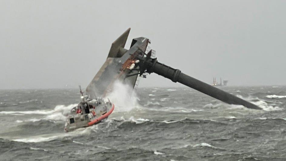 2nd body found, 11 still missing off Louisiana coast