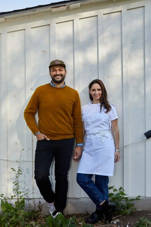 Married couple Arjav Ezekiel and chef Tracy Malechek-Ezekiel will open Birdie's in East Austin in June.