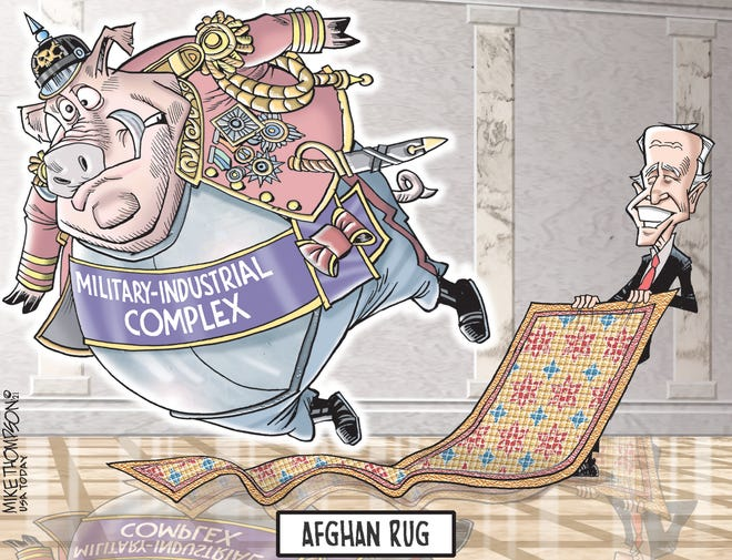 Pulling the rug