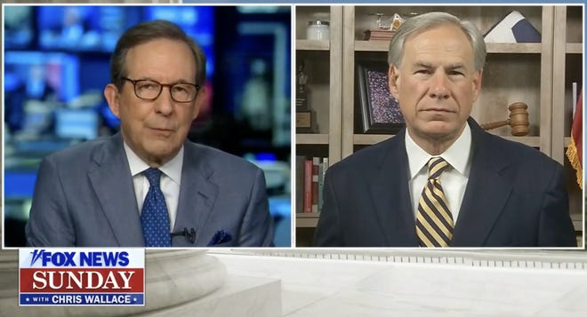 "Gov. Greg Abbott told Fox News' Chris Wallace that Texas ""could be very close to herd immunity."""