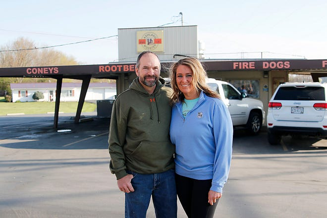 Frank Keener and Mindi White are the new owners of the Ashland-Wooster Drive-In.