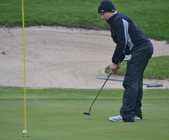 Justin Horrocks, who helped the Cheboygan varsity boys golf team reach its first team state finals since 2003 in 2019, is back for the Chiefs as a senior this spring.