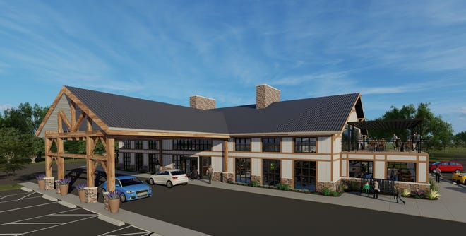 A rendering of the Farm Table exterior. Groundbreaking for the London restaurant is scheduled for Friday