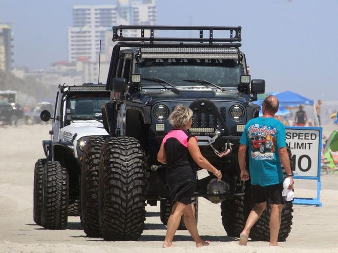 Jeep fans return to the World's Most Famous Beach this week as the annual Jeep Beach celebration starts on Monday. The event continues with activities through April 25.