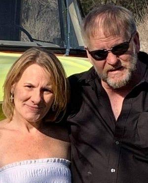 Christine Warth and John Knapp