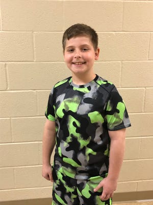 Adam Ezzo of Massillon Intermediate School is The Massillon Independent's Akron Children's Hospital Kid of Character for April.